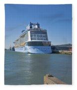 Anthem Of The Seas Southampton Fleece Blanket
