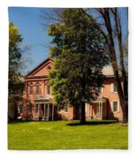 Anthony Hall - Storer College Fleece Blanket
