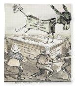 Anti-greenback Cartoon Fleece Blanket