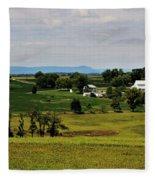 Antietam Battlefield And Mumma Farm Fleece Blanket
