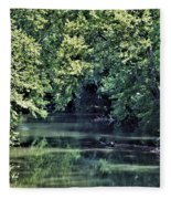 Antietam Creek Fleece Blanket