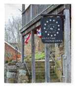 Antietam Ironworks Fleece Blanket