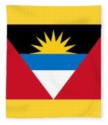 Antigua And Barbuda Fleece Blanket