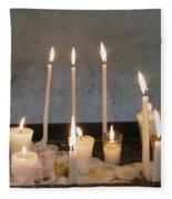 Antigua Church Candles Fleece Blanket