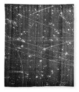 Antineutron, Bubble Chamber Event Fleece Blanket