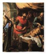 Antiochus And Stratonike Fleece Blanket