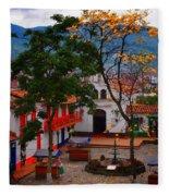 Antioquia Fleece Blanket