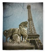 Antiquation Fleece Blanket