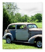 Antique Car 1 Fleece Blanket