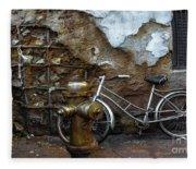 Antique Fire Hydrant 2 Fleece Blanket