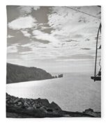 Antique Needles Isle Of Wight Fleece Blanket