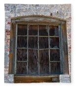 Antique Window Fleece Blanket