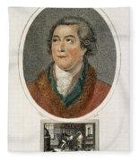 Antoine-laurent Lavoisier, French Fleece Blanket