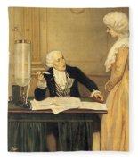 Antoine-laurent Lavoisier Fleece Blanket