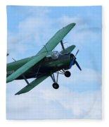Antonov An 2 Fleece Blanket