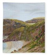 Antsey's Cove South Devon Fleece Blanket