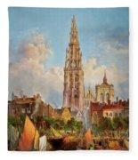 Antwerp Fleece Blanket