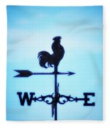 Any Way The Wind Blows Home Fleece Blanket