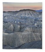 Anza Borrego Fleece Blanket