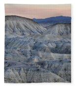 Anza-borrego Landscape Fleece Blanket