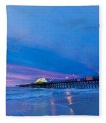 Apache Pier At Sunrise Fleece Blanket