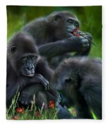 Ape Moods Fleece Blanket
