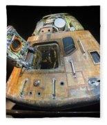 Apollo 14 Command Module Kitty Hawk Fleece Blanket