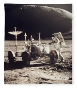 Apollo 15, 1971 Fleece Blanket