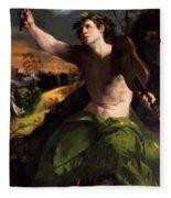 Apollo And Daphne 1524 Fleece Blanket
