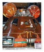 Apollo Boilerplate Command Module Fleece Blanket