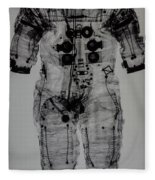 Apollo Space Suit X-ray Fleece Blanket