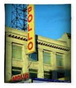 Apollo Vignette Fleece Blanket