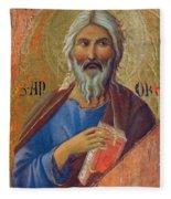 Apostle Andrew 1311 Fleece Blanket