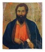 Apostle Jacob 1311 Fleece Blanket