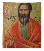 Apostle Matthias 1311 Fleece Blanket