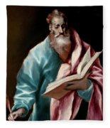 Apostle Saint Matthew Fleece Blanket