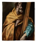 Apostle Saint Philip Fleece Blanket