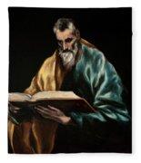 Apostle Saint Simon Fleece Blanket