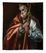 Apostle Saint Thaddeus, Jude Fleece Blanket