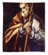 Apostle St Thaddeus Jude Fleece Blanket