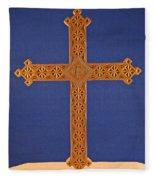 Apostle's Cross Fleece Blanket
