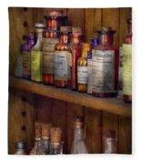 Apothecary - Inside The Medicine Cabinet  Fleece Blanket