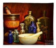 Apothecary - Tools Of The Pharmacist Fleece Blanket