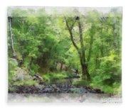 Appalachian Creek Fleece Blanket