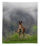 Appalachian Jackass Fleece Blanket