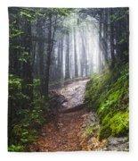 Appalachian Light Fleece Blanket