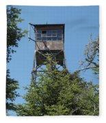 Appalachian Trail - Smarts Mountain New Hampshire Usa Fleece Blanket