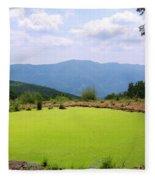 Appalachian Vista Fleece Blanket