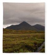 Appealing Scenic Landscacpe In Cuillen Hills Scotland  Fleece Blanket