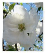 Apple Blossoms Art Prints Canvas Spring Tree Blossom Baslee Troutman Fleece Blanket